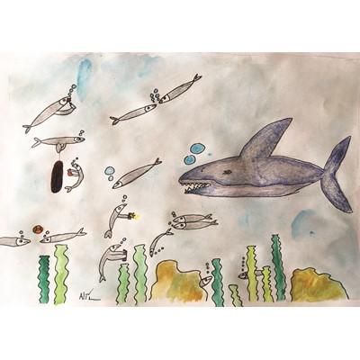 sardin cartoon