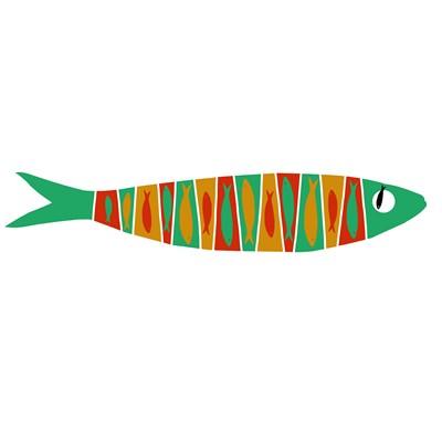 Bandeirada de sardinhas