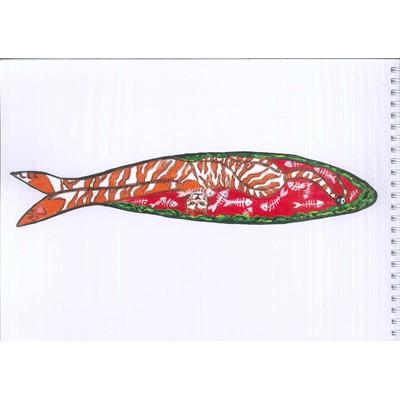 La sardina que se comió al gato