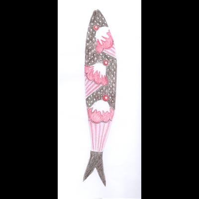 A sardinha cupcake