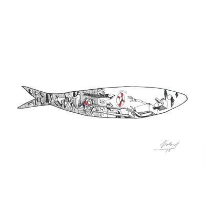 PROTECT THE SARDINE IS PROTECT THE LIFE